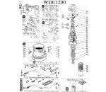Запчасти для Hitachi WDE1200