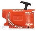 Стартер ручной для бензопилы КИТАЙ 45-52, 4 зацепа на шкив легкий старт