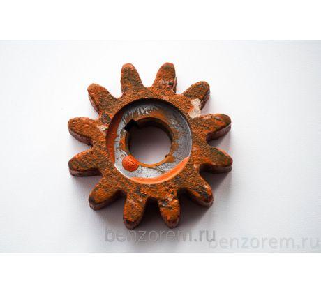 Шестерня для бетономешалки 12 лучей 16мм диаметр