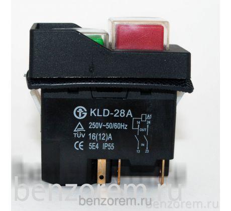 Кнопка включения (выключатель) для бетономешалки DKLD DZ-6 5 контактов