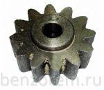 Шестерня для бетономешалки с выступом d=15 мм, 12 лучей