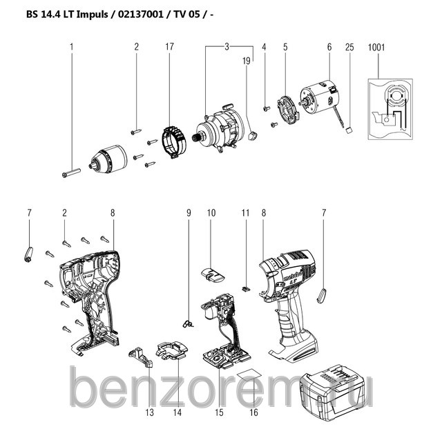 metabo bs 14 4 lt impuls 02137001. Black Bedroom Furniture Sets. Home Design Ideas